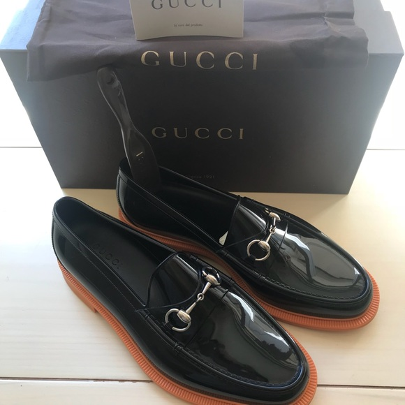 a35a24655f6 Gucci Other - Men s Gucci Rubber Horsebit Loafers